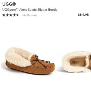 UggPure Alene Suede slipper booties